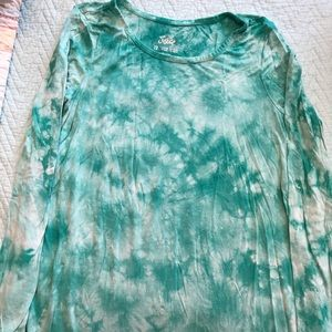 Girls Justice tie dye shirt